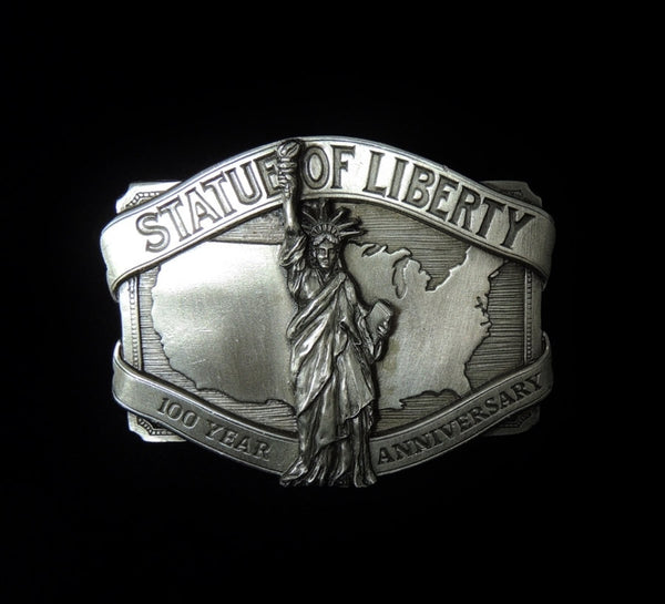Statue of Liberty NYC Belt Buckle Pewter Limited Ed - Premier Estate Gallery  - 1