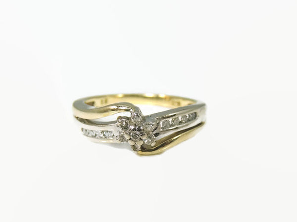 Diamond Promise Engagment Ring 10k Gold .75 ctw - Premier Estate Gallery  - 3