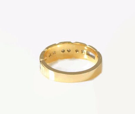 DIAMOND Wedding Band Ring  14k Gold - Premier Estate Gallery  - 2