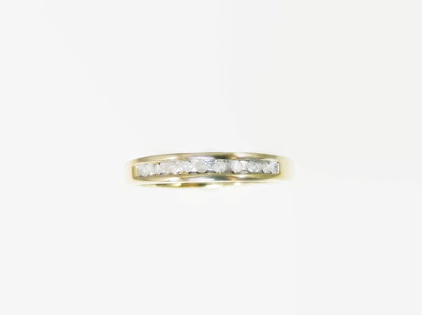 Diamond Wedding Anniversary Band Ring 10k Gold - Premier Estate Gallery  - 3