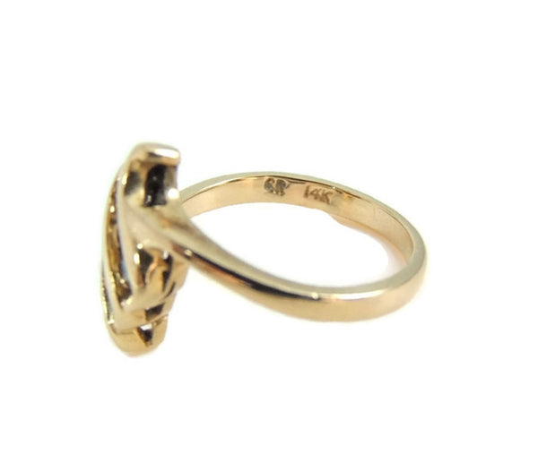 Diamond Accent Promise Ring 14k Gold - Premier Estate Gallery  - 3