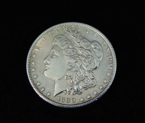 Morgan Silver Dollar 1890 Philadephia Mint EXCELLENT - Premier Estate Gallery  - 1