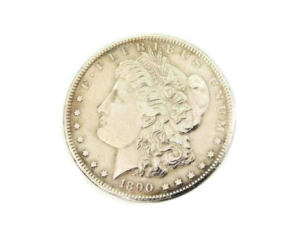 Morgan Silver Dollar 1890 Philadephia Mint EXCELLENT - Premier Estate Gallery  - 3