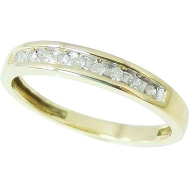 Diamond Wedding Anniversary Band Ring 10k Gold - Premier Estate Gallery  - 1