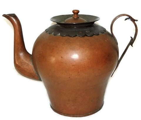 Rare Copper Water Jug Arts and Crafts Movement European - Premier Estate Gallery  - 1