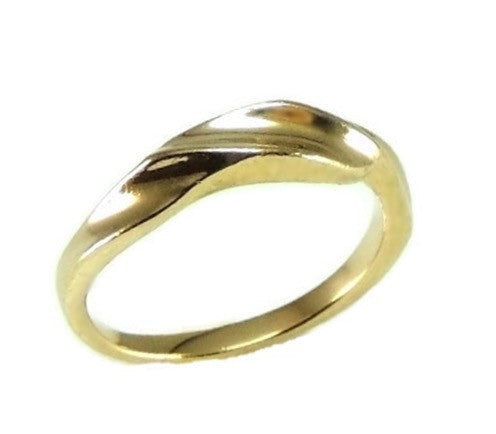 14k Gold Kabana Designer Ribbon Ring - Premier Estate Gallery  - 1