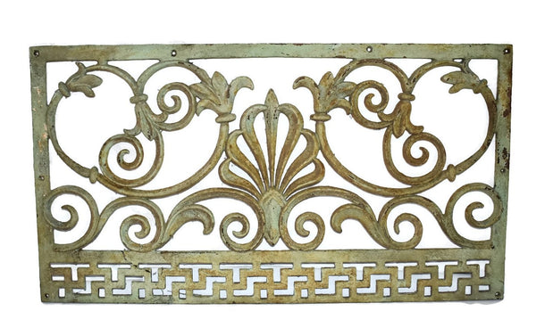 Victorian Cast iron Fireplace Grate Grill c1860s Antique