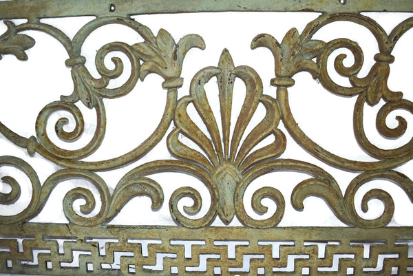 Victorian Cast iron Fireplace Grate Grill c1860s Antique - Premier Estate Gallery 2