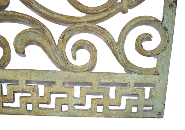 Victorian Cast iron Fireplace Grate Grill c1860s Antique - Premier Estate Gallery 4