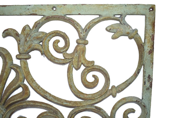 Victorian Cast iron Fireplace Grate Grill c1860s Antique - Premier Estate Gallery 5