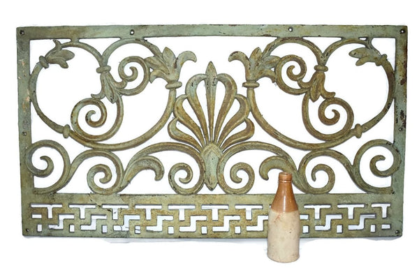 Victorian Cast iron Fireplace Grate Grill c1860s Antique - Premier Estate Gallery 3