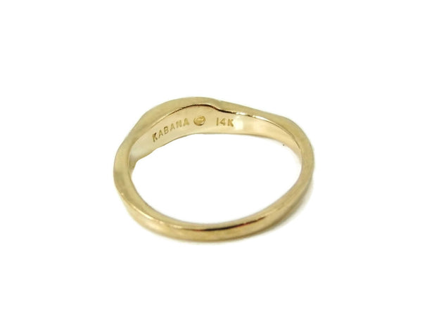 14k Gold Kabana Designer Ribbon Ring - Premier Estate Gallery  - 2