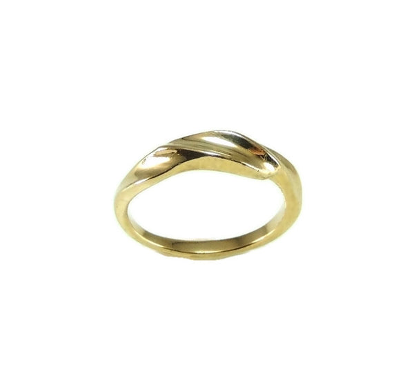 14k Gold Kabana Designer Ribbon Ring - Premier Estate Gallery  - 3