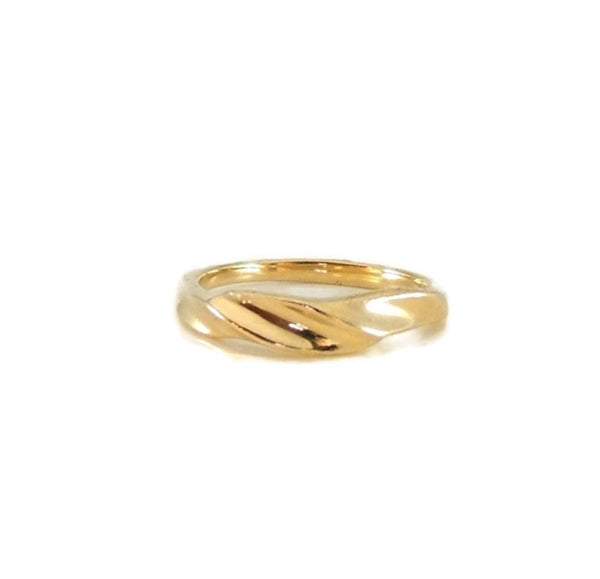 14k Gold Kabana Designer Ribbon Ring - Premier Estate Gallery  - 4