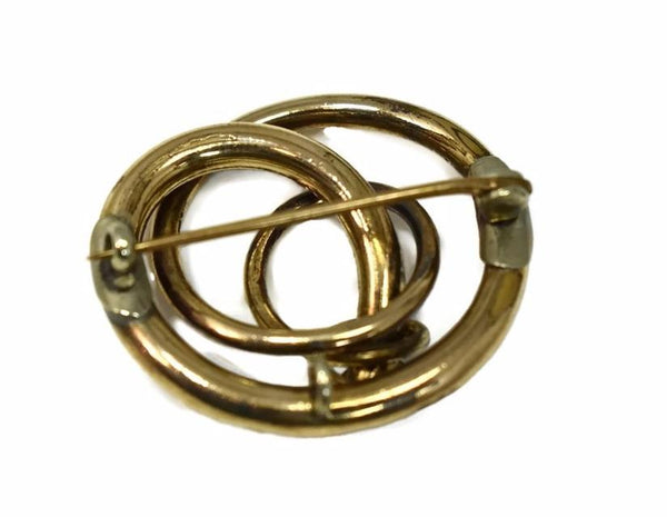 Victorian Love Knot 14k Brooch or Pendant Antique Gold - Premier Estate Gallery 4