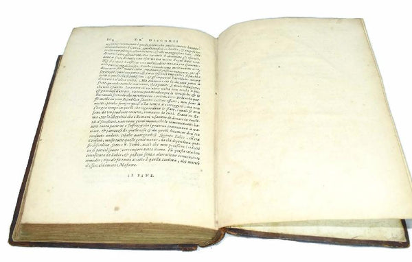 1550 Machiavelli Delle Historie and De Discorsi in One Book Italy