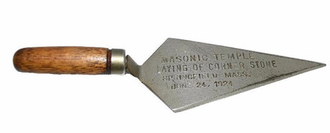 Springfield Mass Masonic Temple Commemorative Letter Opener 1924 - Premier Estate Gallery