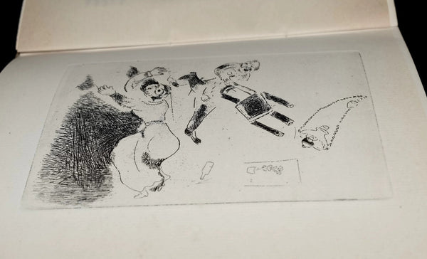 1926 Maternite, Marcel Arland, Marc Chagall Etchings, Number 191 - Premier Estate Gallery 2