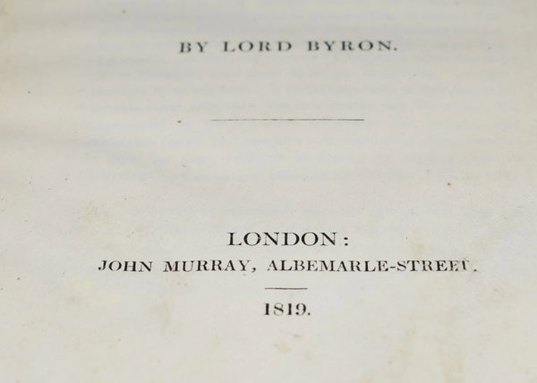 1819 Mazeppa A Poem Lord Byron - Premier Estate Gallery 4