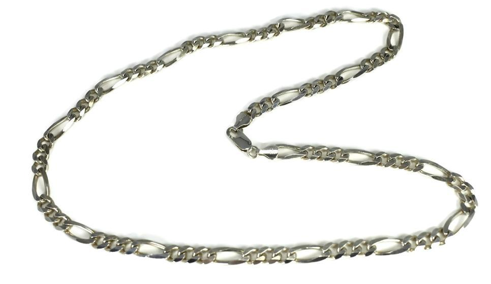 Vintage sterling silver figarucci chain silver mens necklace italy vintage sterling silver figarucci chain silver mens necklace italy sterling silver chain italy 22 aloadofball Image collections