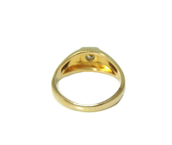Estate 14k Gold Men's Diamond Ring Sz 12 - Premier Estate Gallery  - 4