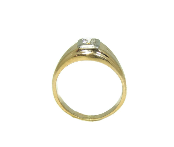 Estate 14k Gold Men's Diamond Ring Sz 12 - Premier Estate Gallery  - 6