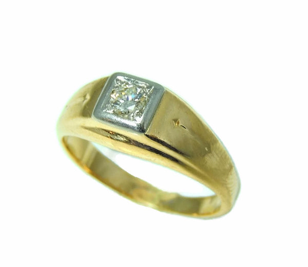 Estate 14k Gold Men's Diamond Ring Sz 12 - Premier Estate Gallery  - 7