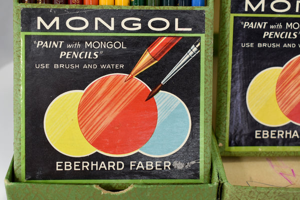 Vintage Faber Mongol Watercolor Pencils c1950