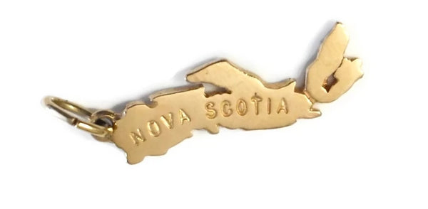 Vintage 10k Gold Nova Scotia Charm - Premier Estate Gallery 1
