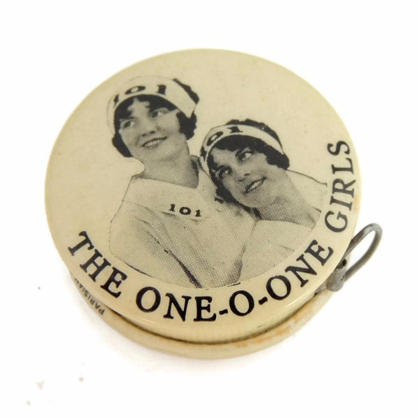 Vintage One-O-One Girls Sewing Tape Measure