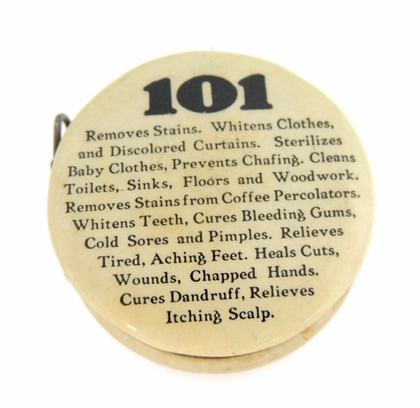 101 Girls Vintage Sewing Tape Measure Back Side