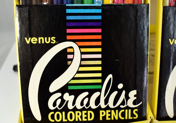 1960s NOS Venus Paradise Colored Pencils #114 Set of 24 UNOPENED