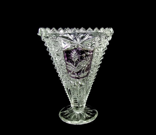 Vintage German Lead Crystal Trinket Miniatures Purple Birds - Premier Estate Gallery  - 3