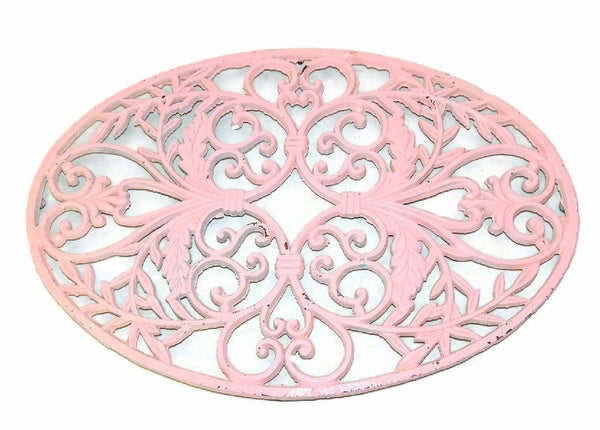 Shabby Cast Iron Trivet over 22 inches - Premier Estate Gallery