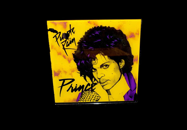 Prince Purple Rain 1980s Carnival Prize Mirror -Premier Estate Gallery 2