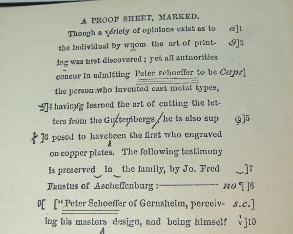 Antique Printers' Dictionary Guide Book 1892 Kelsey Press - Premier Estate Gallery  - 7