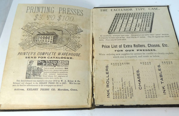 Antique Printers' Dictionary Guide Book 1892 Kelsey Press - Premier Estate Gallery  - 8
