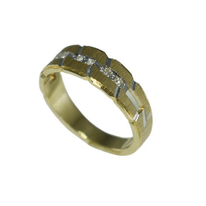 Diamond Wedding Band Ring  14k Gold  - Premier Estate Gallery 2