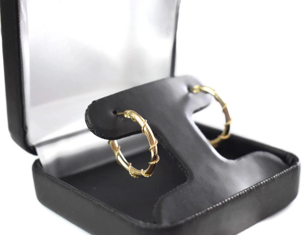 14k Gold Wire Wrapped Hoop Earrings - Premier Estate Gallery 3