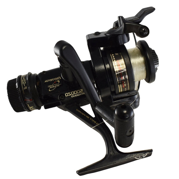 1980s Shimano Speedmaster CX2000SQ Spinning Reel w Quickfire II Fishing Reel 3