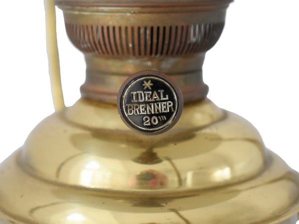 Vintage Brass Trawler Lantern DHR Den Haan w Ideal 20 Burner - Premier Estate Gallery 2