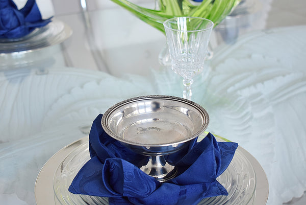 Sterling Silver Small Pedestal Bowl Compote - Premier Estate Gallery 3