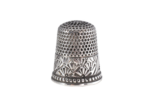 Antique Silver Thimble Ketchum & McDougall Unengraved - Premier Estate Gallery