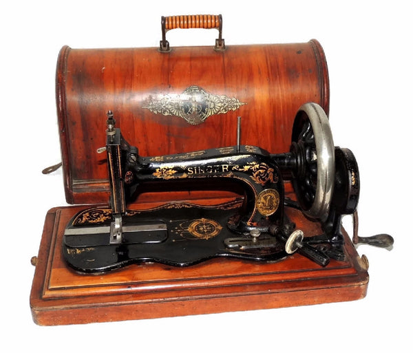 Singer Model 12k Sewing Machine Antique 1885 - Premier Estate Gallery