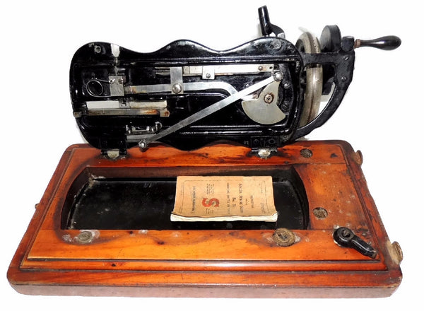 Singer Model 12k Sewing Machine Antique 1885
