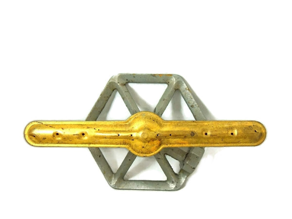 Mid Century Propeller Sprinkler Brass and Cast Vintage - Premier Estate Gallery  - 3