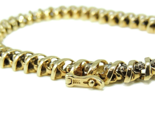 Diamond Tennis Bracelet 14k Gold 4.2 ctw - Premier Estate Gallery  - 8