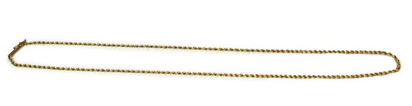 Vintage 14k Gold Rope Chain - Premier Estate Gallery 1