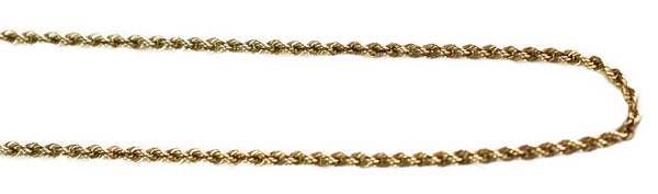 Vintage 14k Gold Rope Chain - Premier Estate Gallery 2