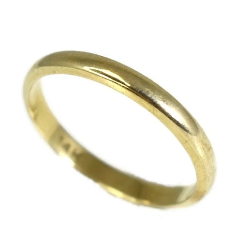 14k Gold Wedding Band Thin 2.5mm Band - Premier Estate Gallery 2